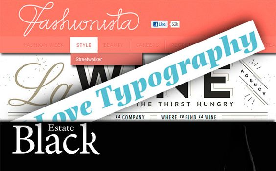 Websites with Excellent Font Usage and Guidelines for Your Site