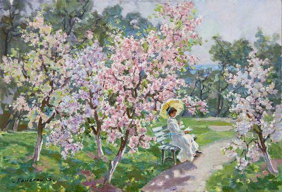 Stanislav Fomenok - Frühling im Park