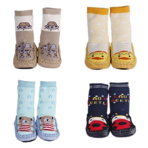 EOZY 4 Pares A Vender Zapatillas Calcetines Para Bebé Niños Medias Antideslizante De Algodón Ver más http://bebe.deskuentos.es/comprar/para-ninos/eozy-4-pares-a-vender-zapatillas-calcetines-para-bebe-ninos-medias-antideslizante-de-algodon/