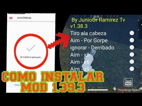Nuevo Apk Mod Menu Para Free Fire Mod Menu Ultima Version V