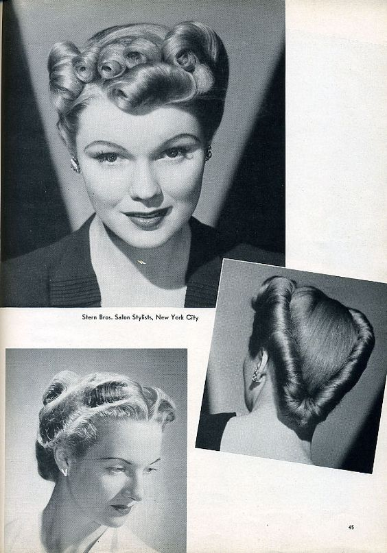 by Stern Bros, Salon Stylists, New York City - 1940s