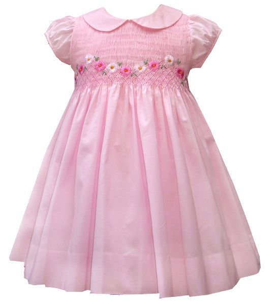 Smocked Dress - smocking - Pinterest - Flower- Girls and Pictures