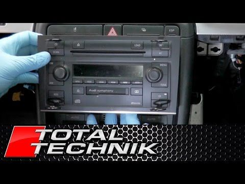 How To Remove Double Din Stereo Audi A4 S4 Rs4 B6 B7 2001 2008 Total Technik Youtube Audi A4 B7 Audi Audi A4