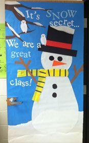 Great Idea But Going To Do My Door And Change Class Family Christmas Ideas Pinterest Classroom Doors