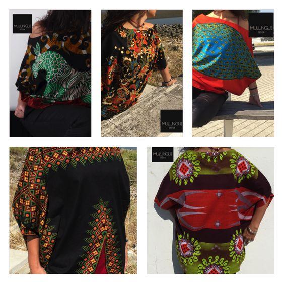 Atreva-se a ser diferente! #modaparamulher #moda #senhora #design #roupa www.facebook.com/mulungui