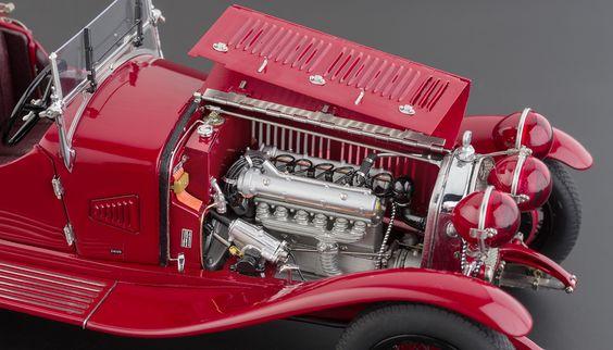 CMC M-138 Alfa Romeo 6C 1750 GS 1930 09