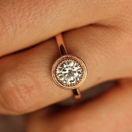 1000 ideas about Modern Engagement Rings on Pinterest