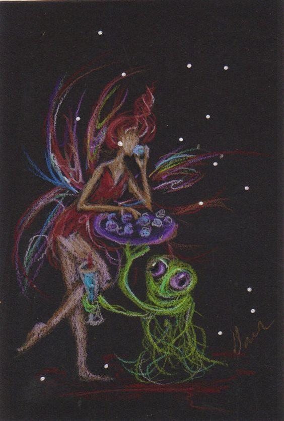 Horderves......Fairies and Aliens 48 by DawnFairies on Etsy