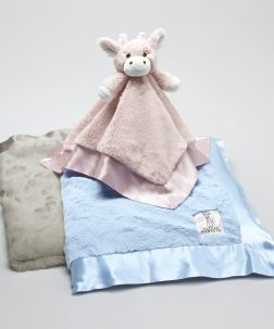 Little Giraffe Luxe Blanket, pair this with a sofie giraffe for perfect soft/soothing themed gift for shower #Nordstrom