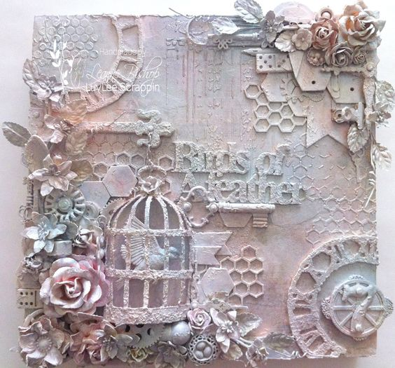 gorgeous - lots of ideas for recycling bits and bobs!  I'll definitely be looking at every day objects in a different light from now on.