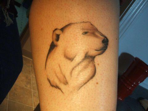 Polar Bear Tattoo