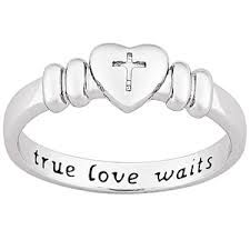 Image result for catholic purity ring
