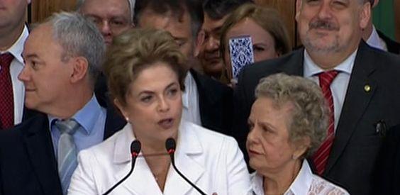 """""""Posso ter cometido erros, mas não cometi crimes"""", diz Dilma após afastamento"""
