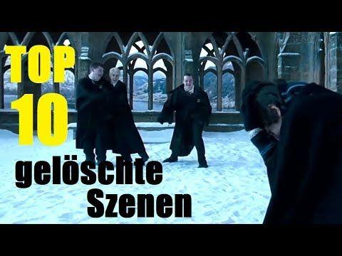 Top 10 Der Schlechtesten Geloschten Harry Potter Szenen Deleted Scenes Youtube Animation Youtube Videos