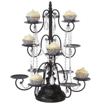 chandelier style cupcake stand
