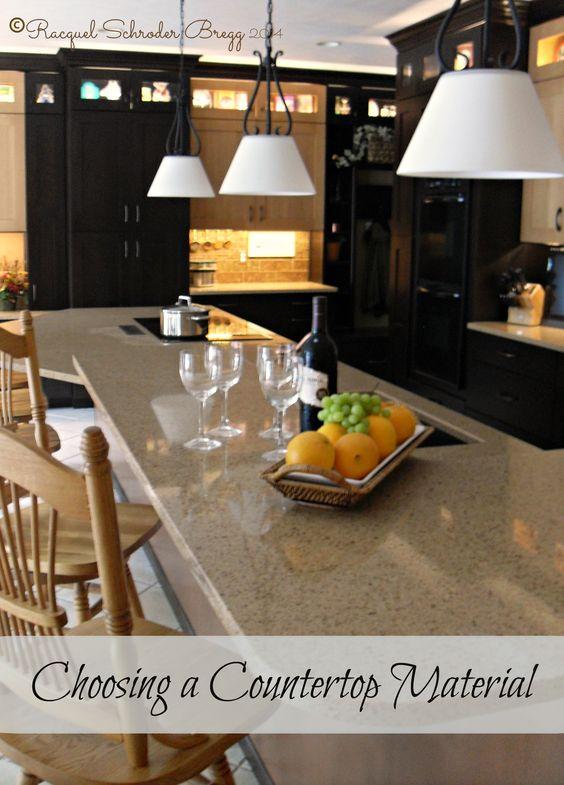 Choosing Countertop Materials - Countertop material options and a ...
