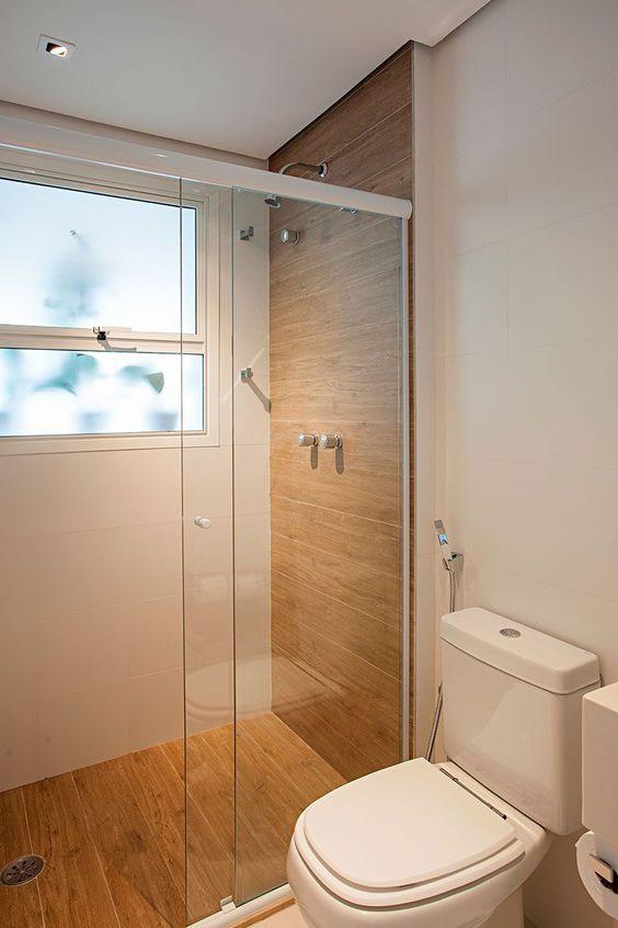 Decor Banheiro Com Madeira Com Imagens Banheiros Modernos