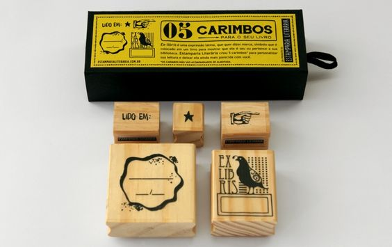 Carimbos Ex-libris - Papelaria
