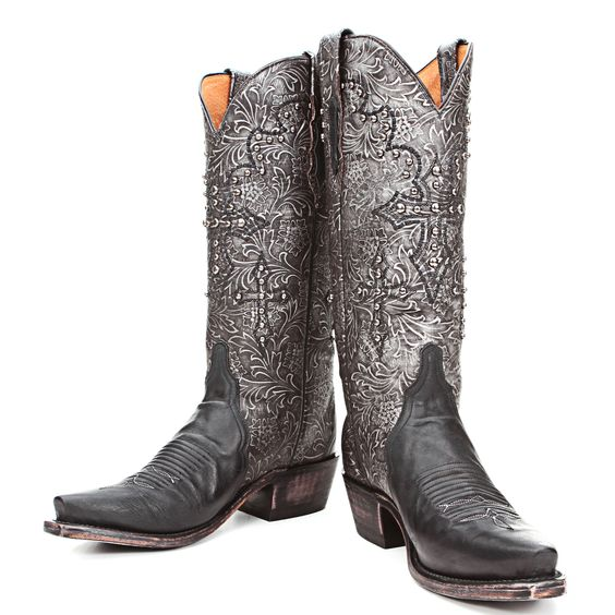BootDaddy Collection with Lucchese Black Triad Cowgirl Boots|