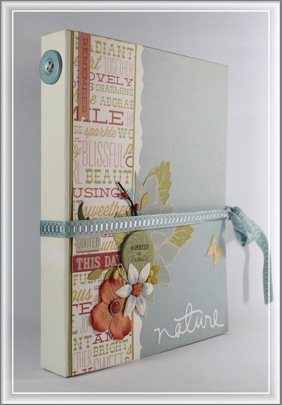 Mini albums album and id es de scrapbooking on pinterest - Idee scrapbooking album photo ...