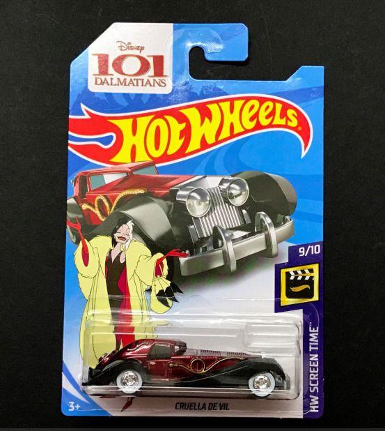 Hot Wheels-Película Cars-Cruela De Vil
