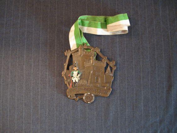Prinzengarde Duren, German Carnival Medal, 1954 - 1987 [Vintage] by MaGriffeBoutique on Etsy