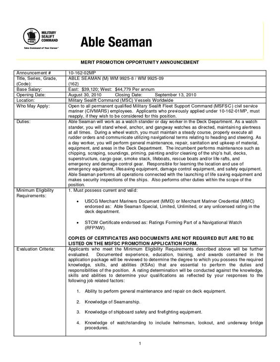 able bodied seaman resume able seaman wikipedia data acquisition