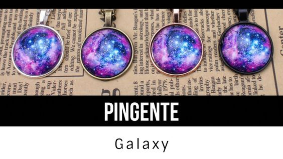 DIY-Pingente Bottle Nebula│Galáxias