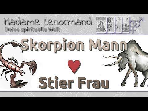 Stier passen mann frau und skorpion Stier