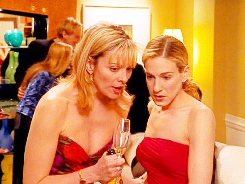 Samantha and Carrie.