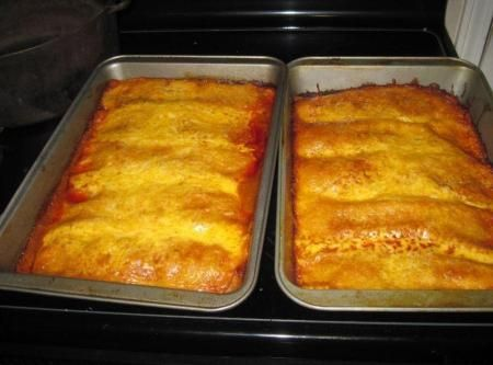 Shredded Pork Enchiladas Recipe