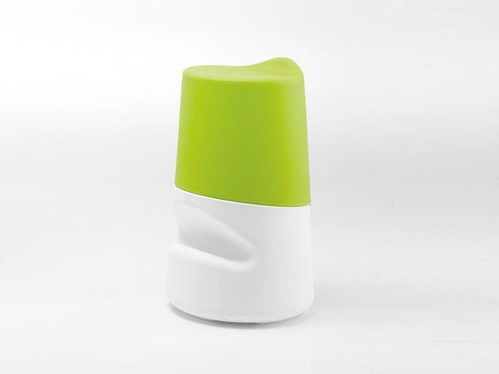 Tabouret en polyéthylène avec repose-pieds Collection Broncio by Infiniti by OMP Group | design FILIPPO MAMBRETTI