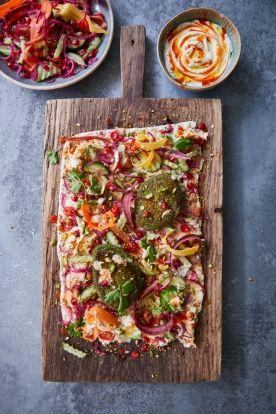 Easy Vegan Falafel Recipe Jamie Oliver Vegan Recipes Recipe Vegan Falafel Recipe Falafel Recipe Vegetable Recipes