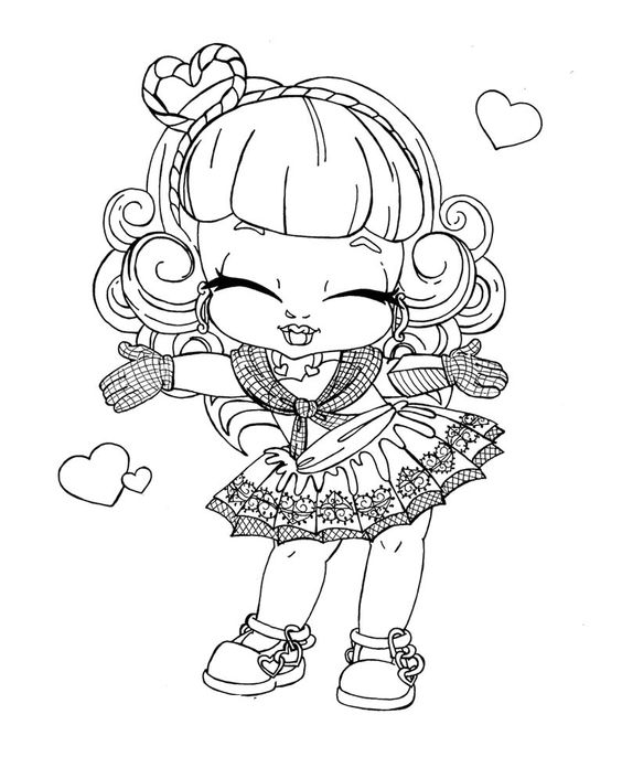 monster high coloring pages baby google search