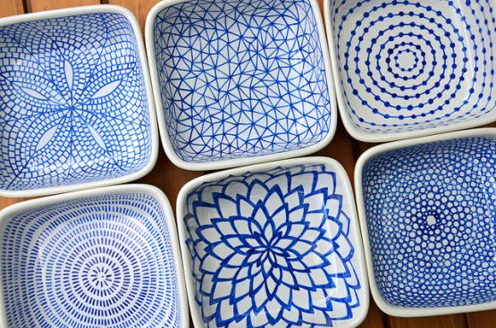 DIY   Pintar platos y tazas de porcelana