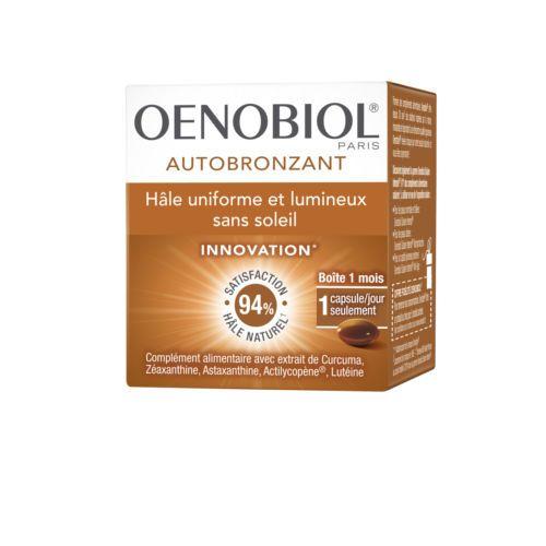 Oenobiol Autobronzant 30 Capsules - Pharmacie Lafayette - Soleil
