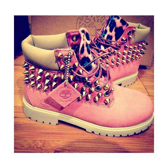 Timberland Boots For Girls Cheetah Print