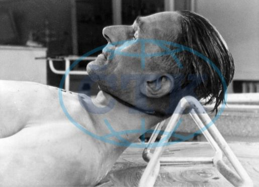 Body of Karl Hermann Frank after autopsy: