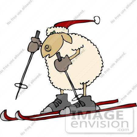Sheep Clipart by DJArt