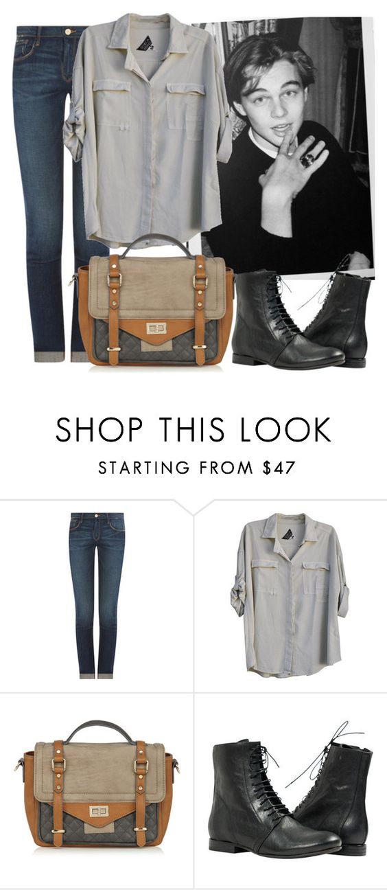 """No Grey"" by aguniaaa ❤ liked on Polyvore featuring KEEP ME, Frame Denim, Seneca Rising, Warehouse and vintage"