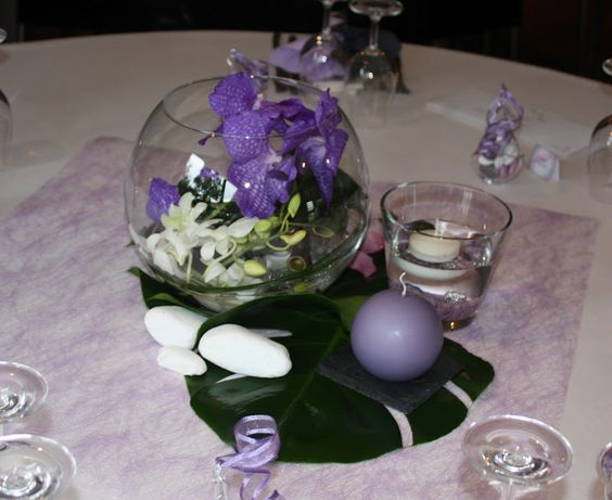 Nature tables and vase on pinterest for Centre de table nature