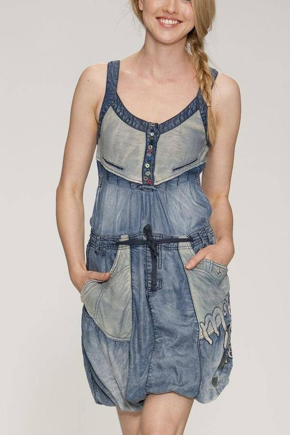 robe miracle denim by desigual pinterest robes and ps. Black Bedroom Furniture Sets. Home Design Ideas
