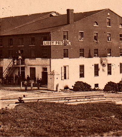 Libby Prison - The Libby Prison Escape was one of the most famous (and successful) prison breaks during the American Civil War. Overnight between February 9 and February 10, 1864, more than 100 imprisoned Union soldiers broke out of their prisoner of war building at Libby Prison in Richmond, Virginia.:
