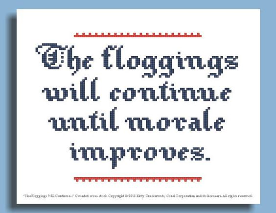 Might need this. Funny Cross Stitch Pattern