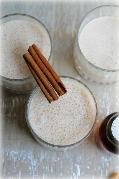 Milk Kefir Recipe with Cinnamon and Maple