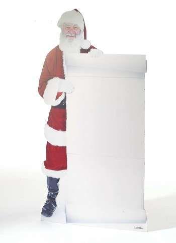 Pappaufsteller Santa 178x78 cm (H/B)