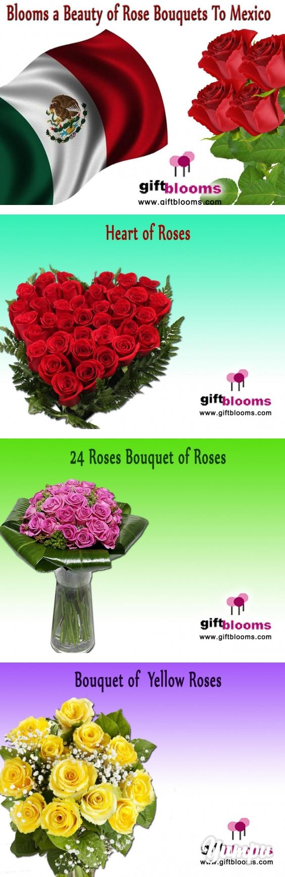 Blooms a Beauty of Rose Bouquets to Mexico - Magazine with 8 pages ...