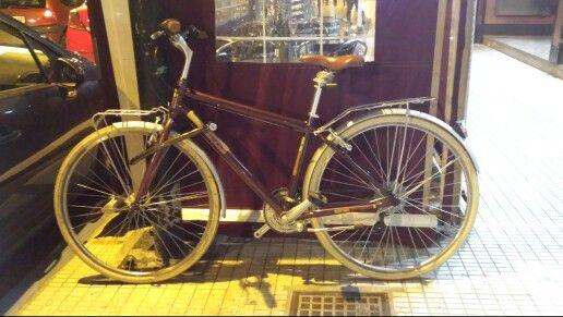 Bike from Albacete. Bici de Albacete. Clasica y a la vez moderna