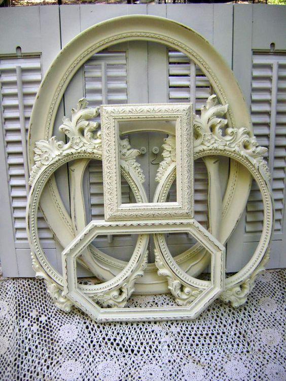 picture frame assortment antique white frames wedding frames nursery distressed oval