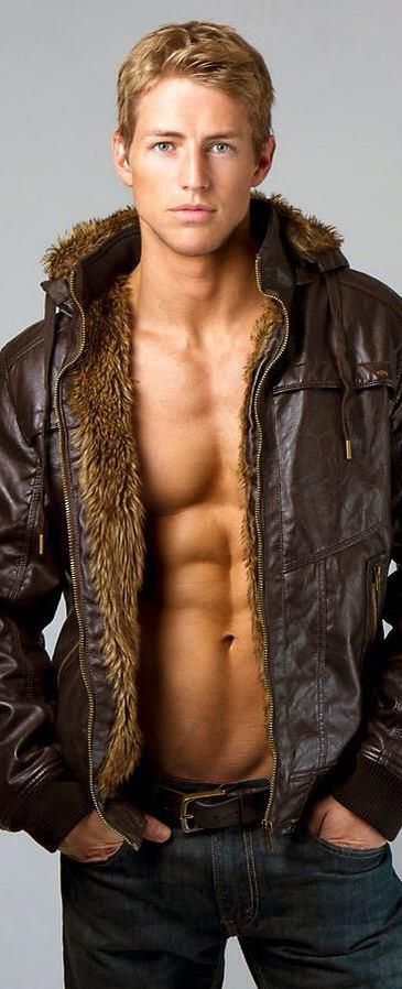 C'mon, it's the jacket that's perfect.  It just happens that it's being worn by that  guy! :)